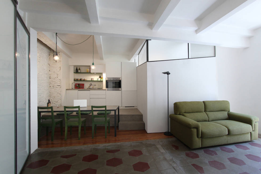 Quando il mini appartamento fa stile meno di 40 mq e una for Idee ristrutturazione