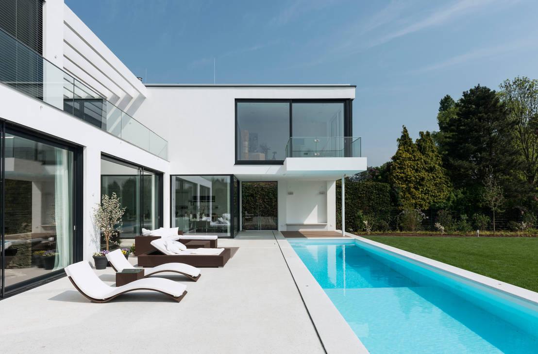 villa d sseldorf von sohoarchitekten homify. Black Bedroom Furniture Sets. Home Design Ideas