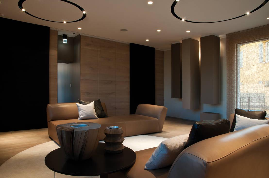 Salotti di lusso quando sogno e realt coincidono - Arredi case moderne ...