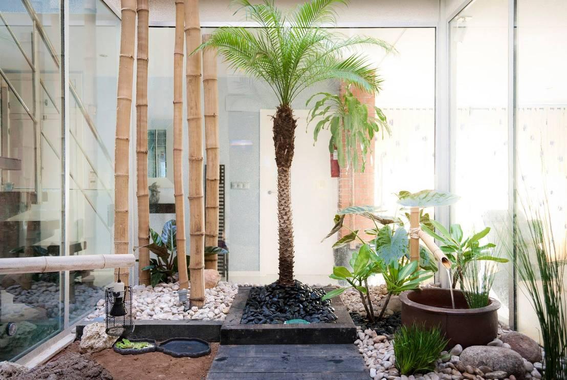 15 jardines interiores perfectos para casas modernas for Imagenes de jardines interiores