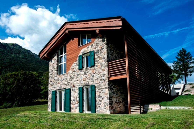 Homify 360 una casa di montagna sulle dolomiti for Immagini di case di montagna