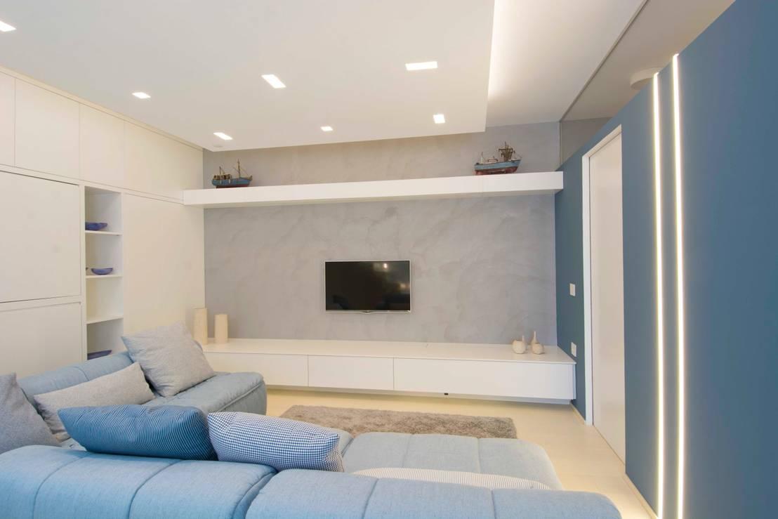 Rimodernare il soggiorno 5 colori per 5 idee da copiare - App per colorare pareti casa ...