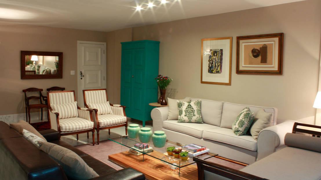 Ideias de cores para sala de estar for Sala de estar fendi