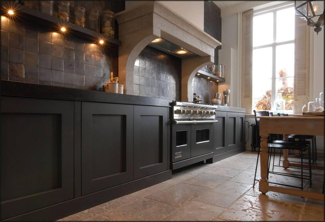Designed by david klassieke keukens - Keuken centraal eiland ...