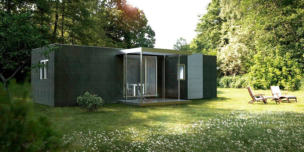 Casas prefabricadas econ micas y modernas - Cube casas prefabricadas ...