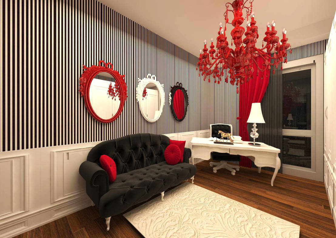 Homify for Disposition salon feng shui