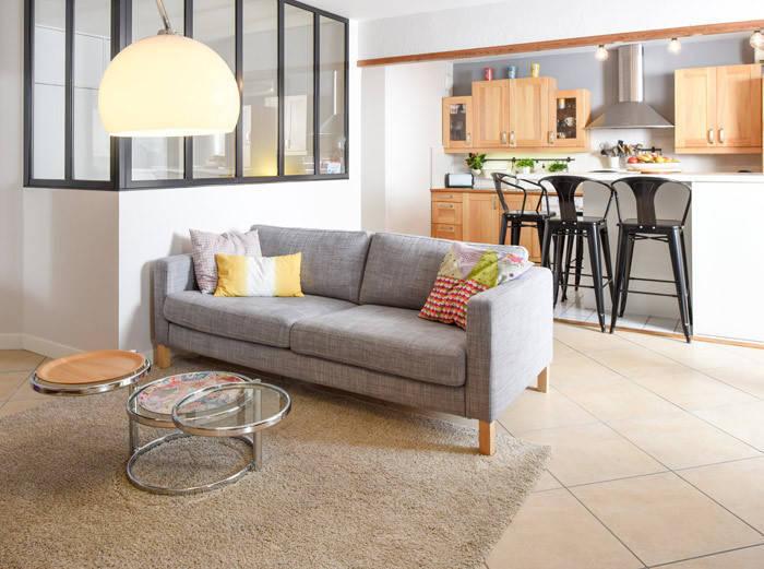 Création d'une chambre dans une pièce à vivre d'un appartement à ...