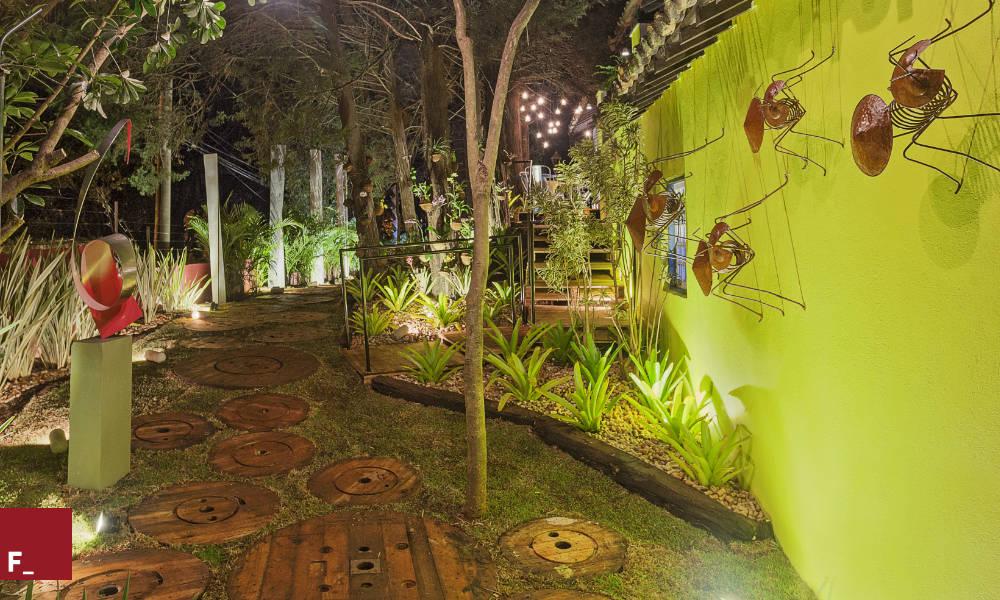 ideias caminhos jardim:Ideias de caminhos e pisos para o jardim