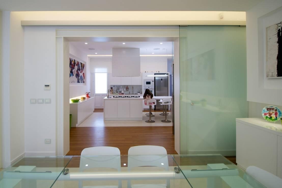 Quando l 39 open space funziona una ristrutturazione a catania - Idee per dividere sala e cucina ...