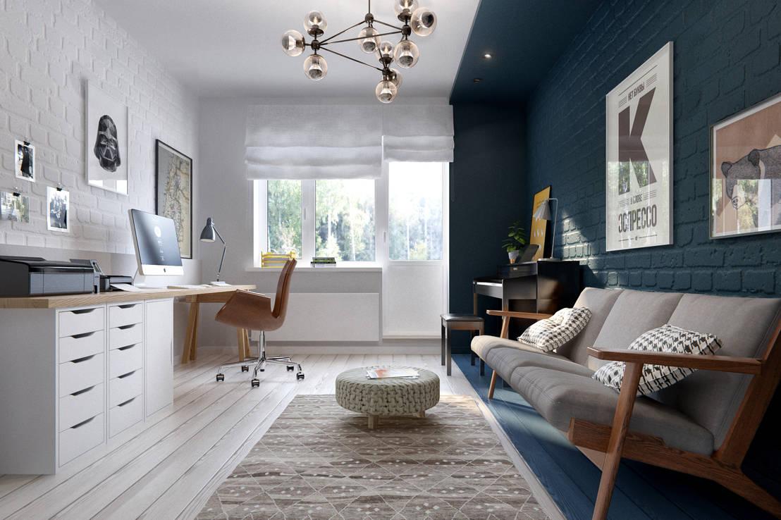 ultimas tendencias de decoracao de interiores:Ergonomic Home Office Ideas