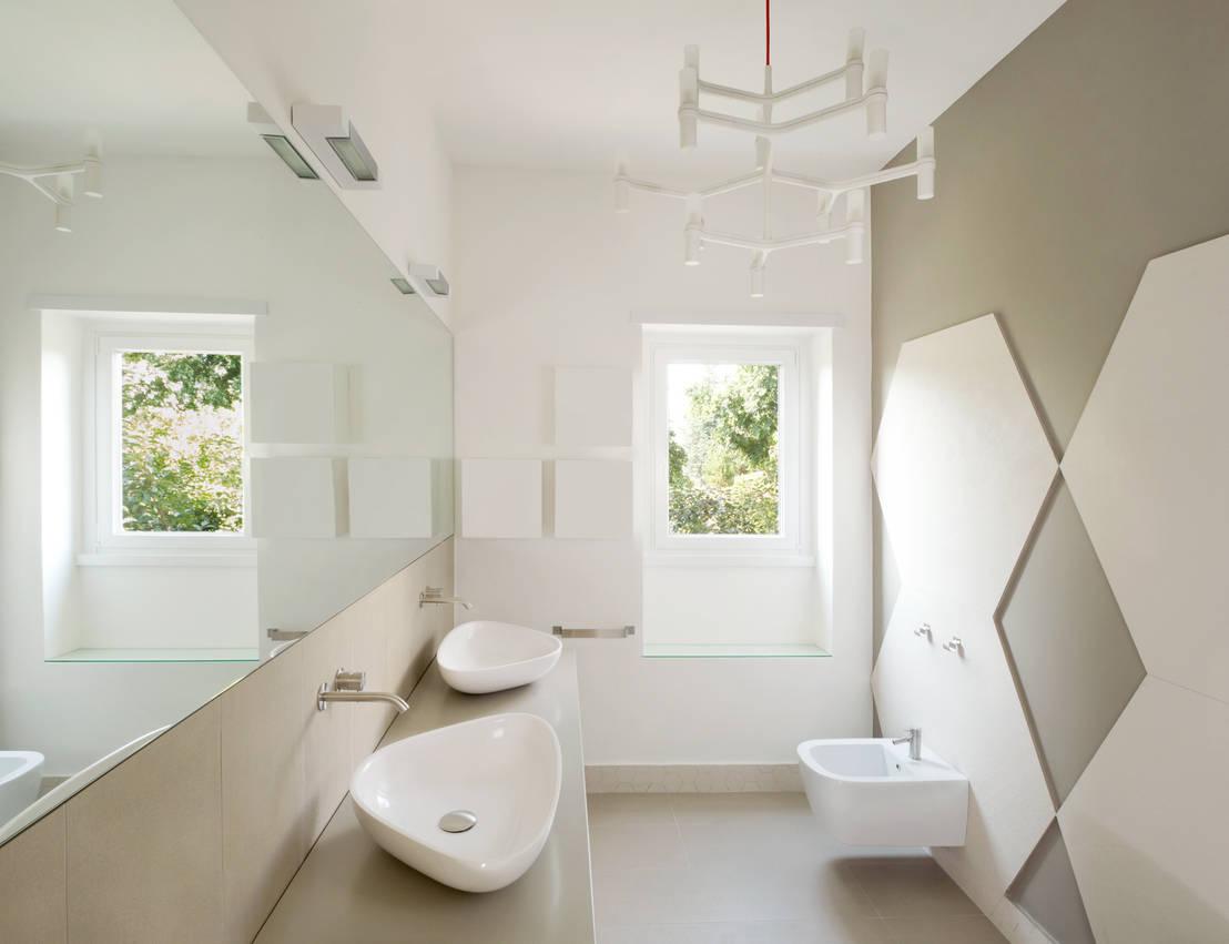 5 bagni piccoli che non fanno invidiare i bagni pi grandi for Grandi bagni padronali