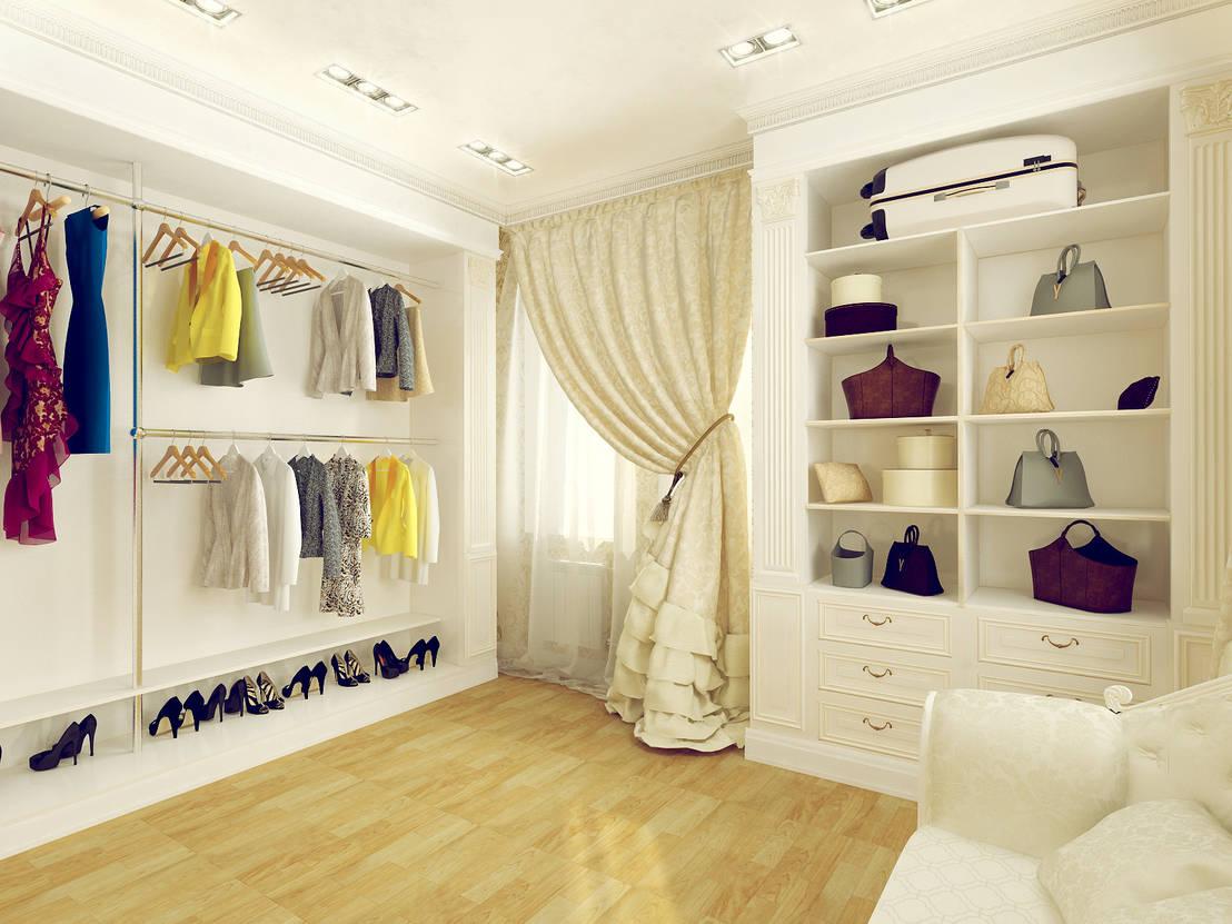 Transform an unused room into a walk-in closet
