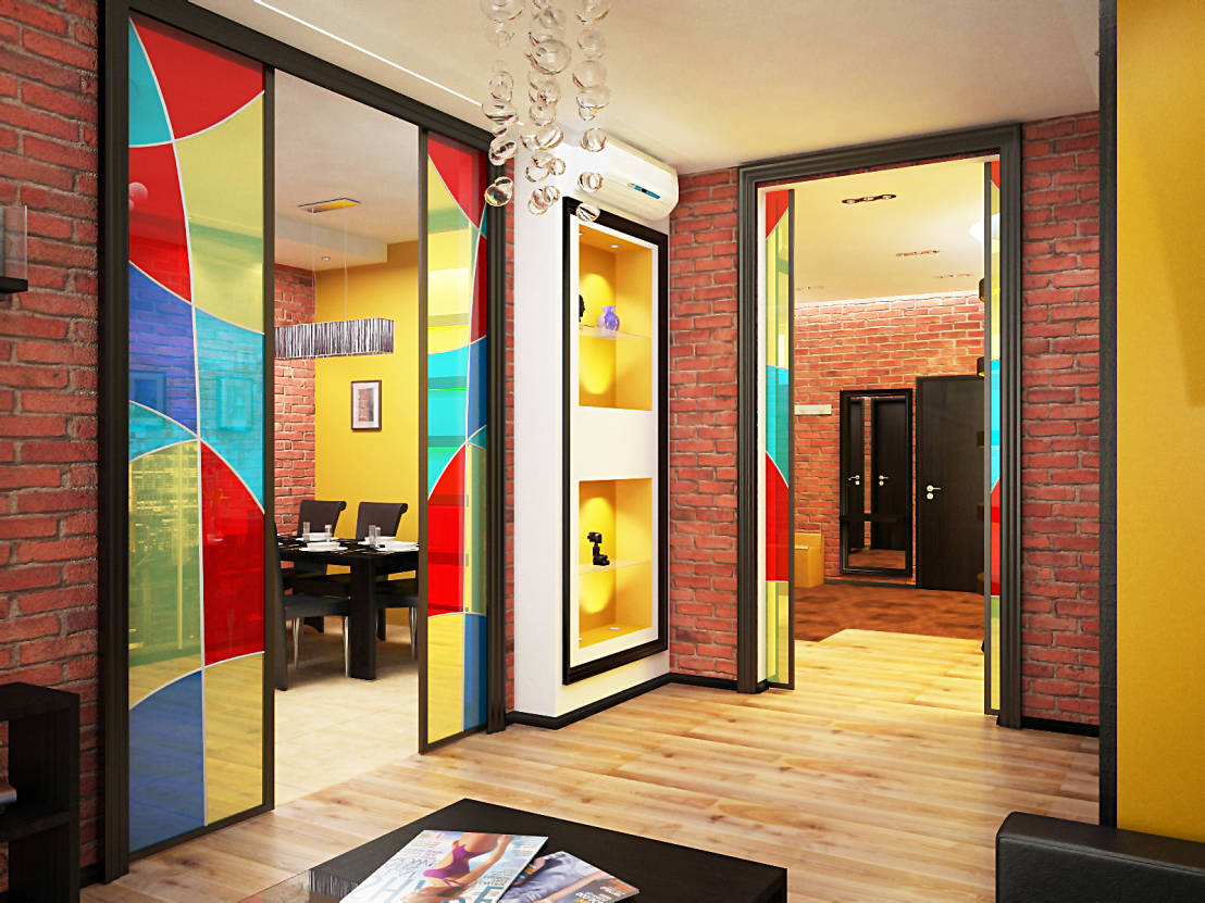 A colourful home where quirky meets rustic for Quirky home