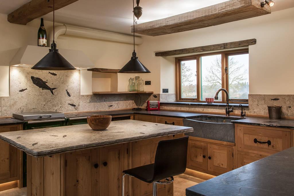 7 bachas de cocinas modernas pero con un toque r stico for Bachas para cocina
