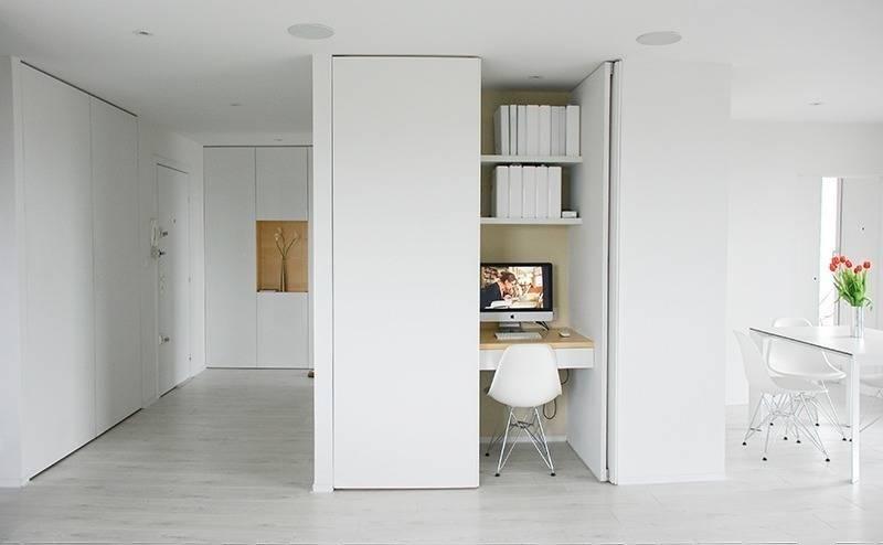 10 meubles ing nieux pour ordinateur for Bureau informatique petit espace