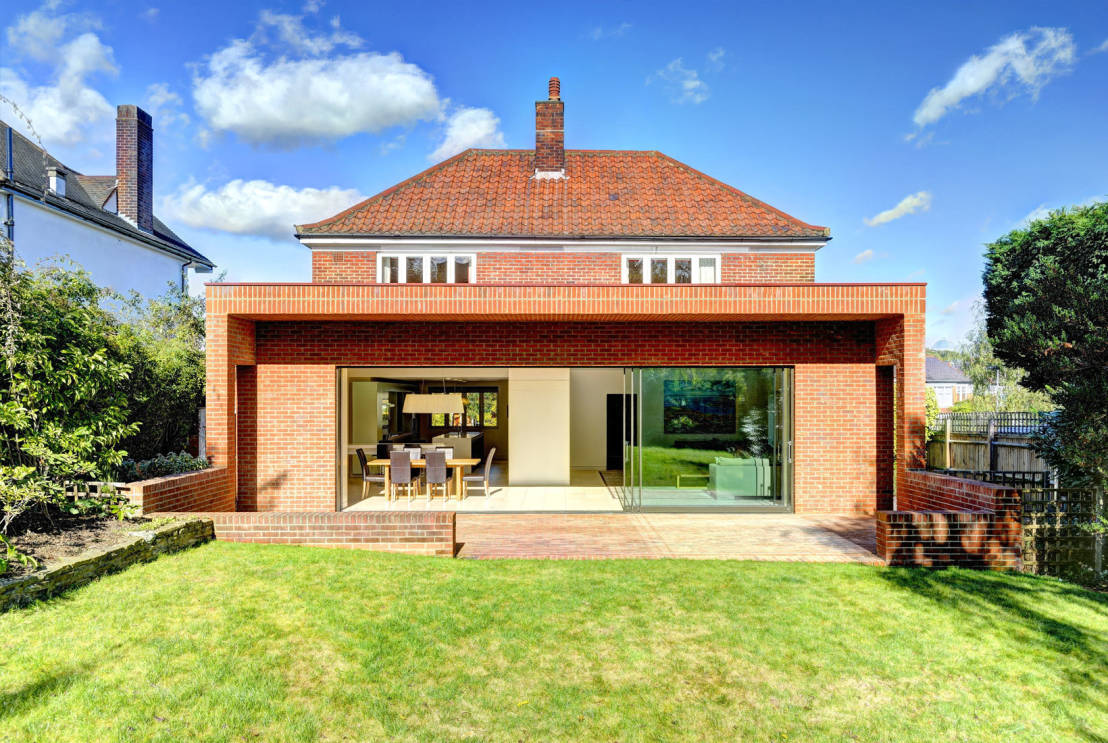 The Stunning British Red Brick Extension