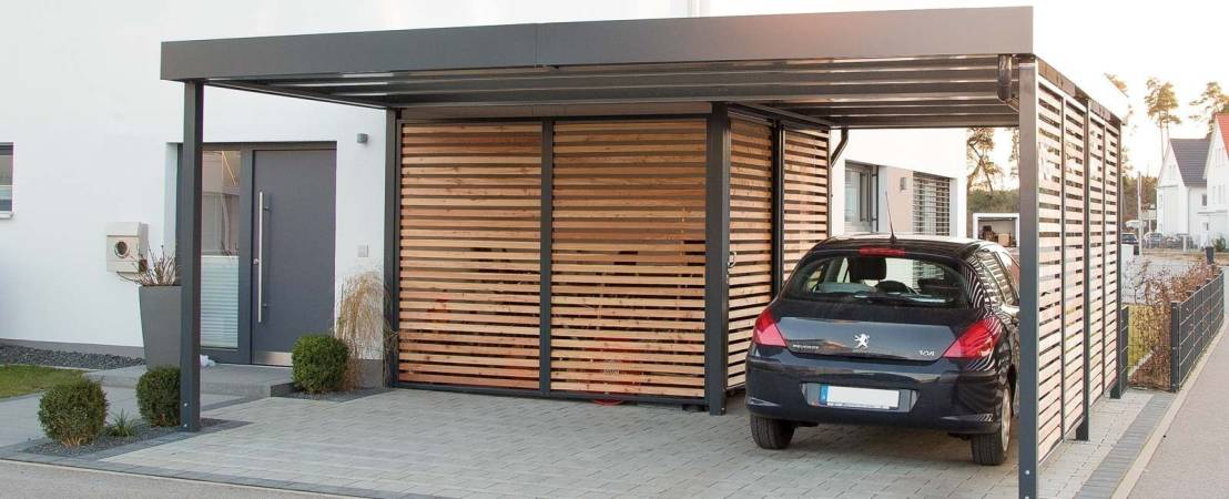 Carports aus Stahl von Siebau von Siebau Raumsysteme GmbH & Co. KG ...