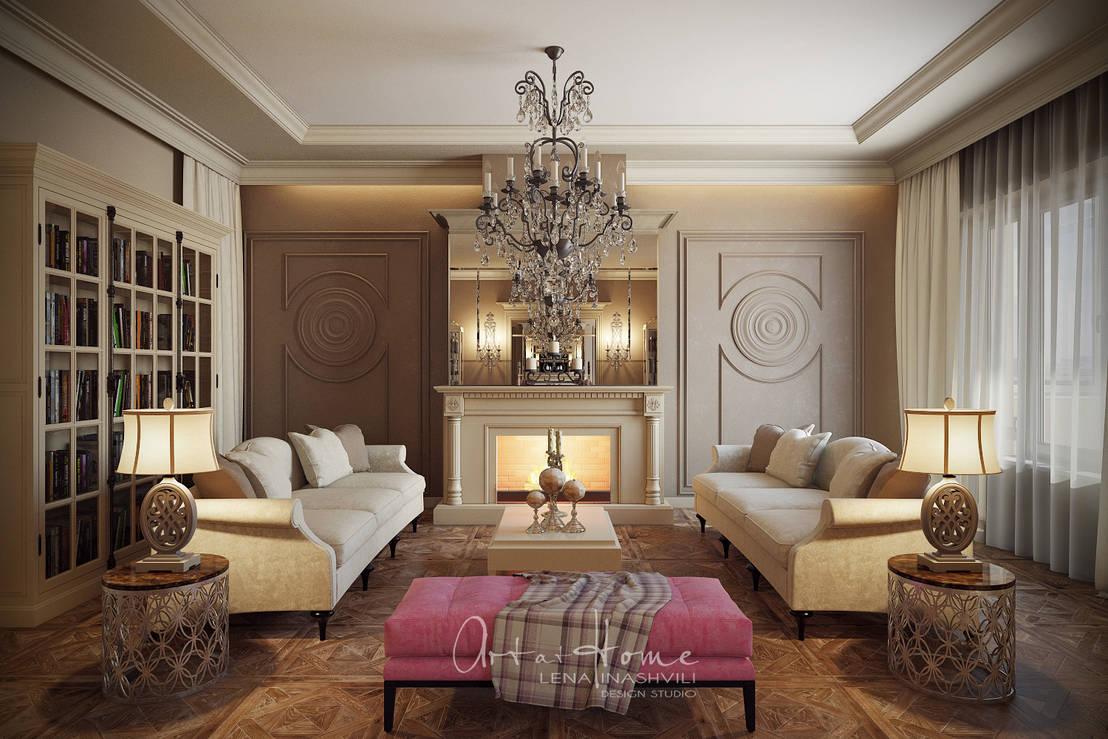 Prachtige traditionele woonkamer sets - Foto van decoratie interieur ...