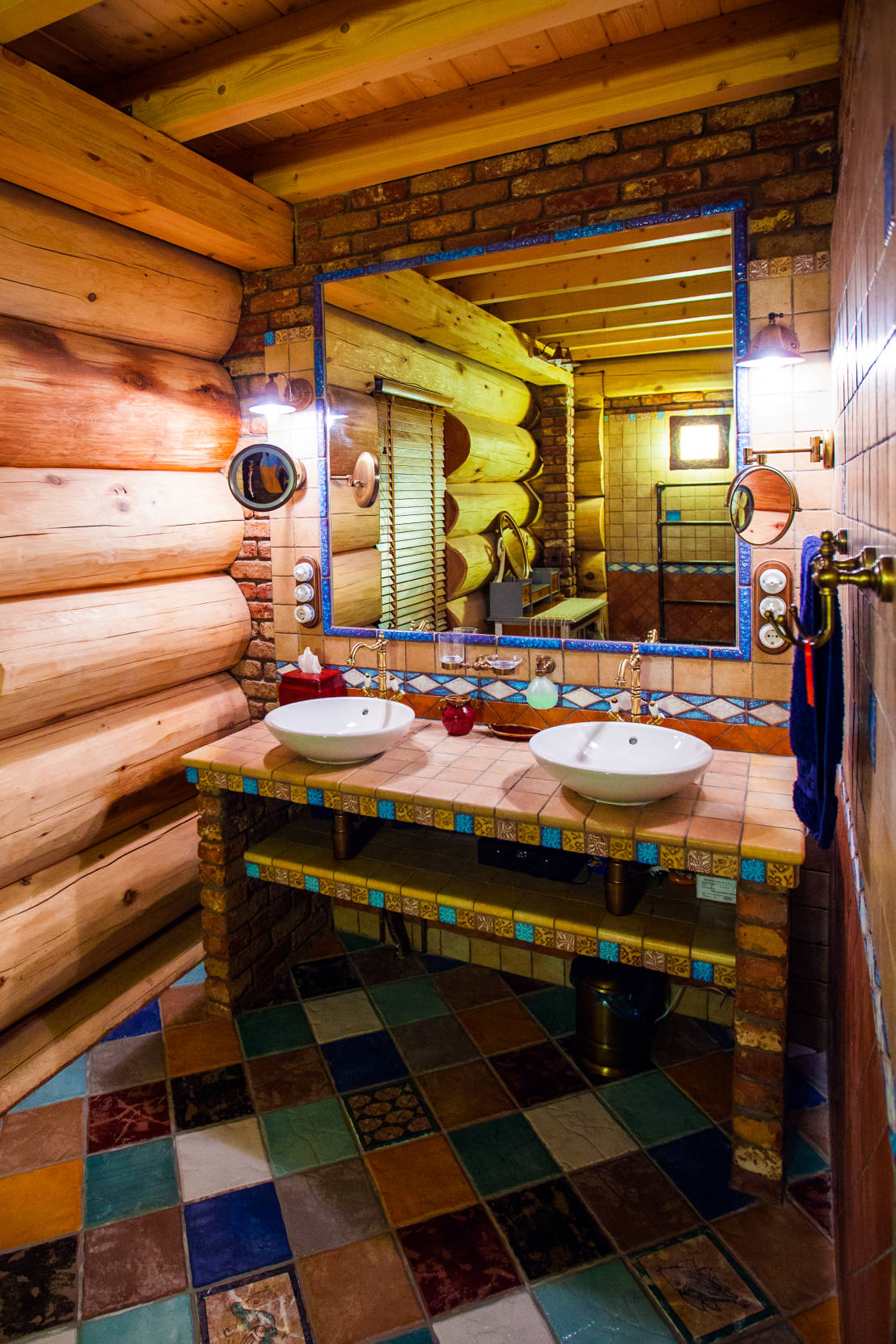 Model Rustic Bathroom By Beinder Schreinerei Amp Wohndesign GmbH