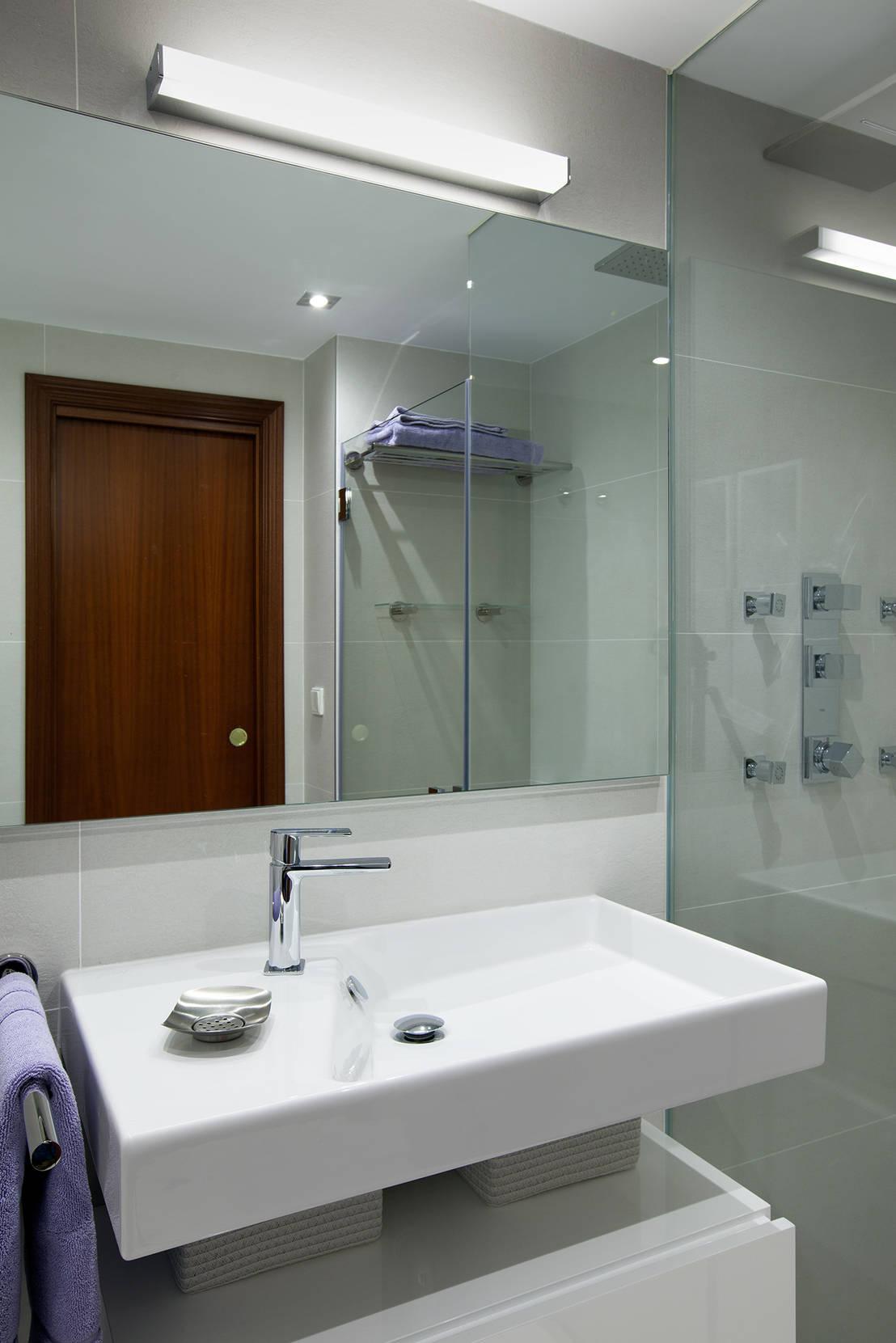 Baño Estilo Contemporaneo:Baño contemporaneo diseño L'AGABE Interiorismo de L'AGABE