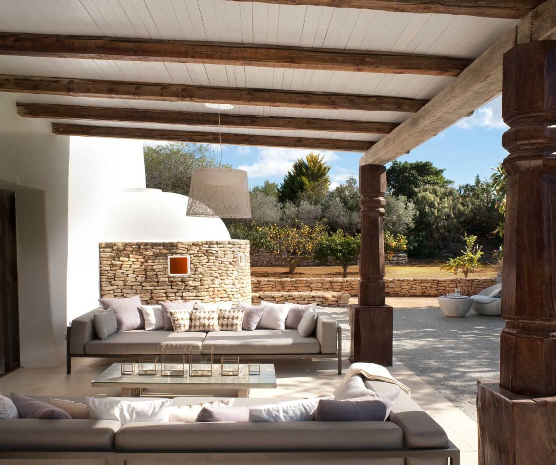 10 razones para poner un techo de madera en tu terraza ya - Techo desmontable madera ...