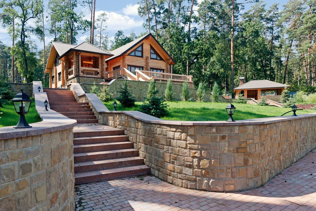 Una casa de madera espectacular - Vivir en una casa de madera ...
