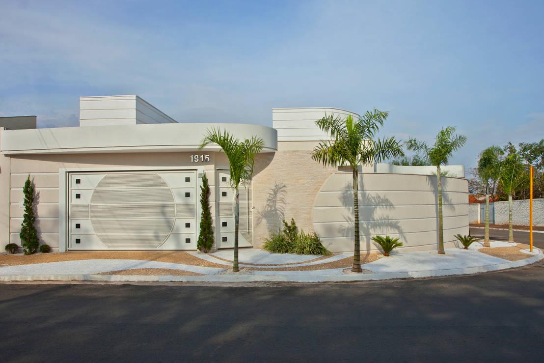 Lar moderno tem fachada linda e rea de lazer maravilhosa - Casa con terreno murcia ...