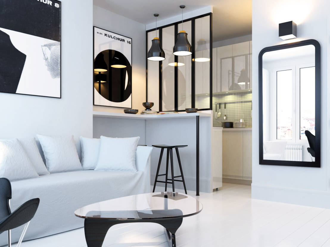 6 astuces incroyables pour petit appartement. Black Bedroom Furniture Sets. Home Design Ideas