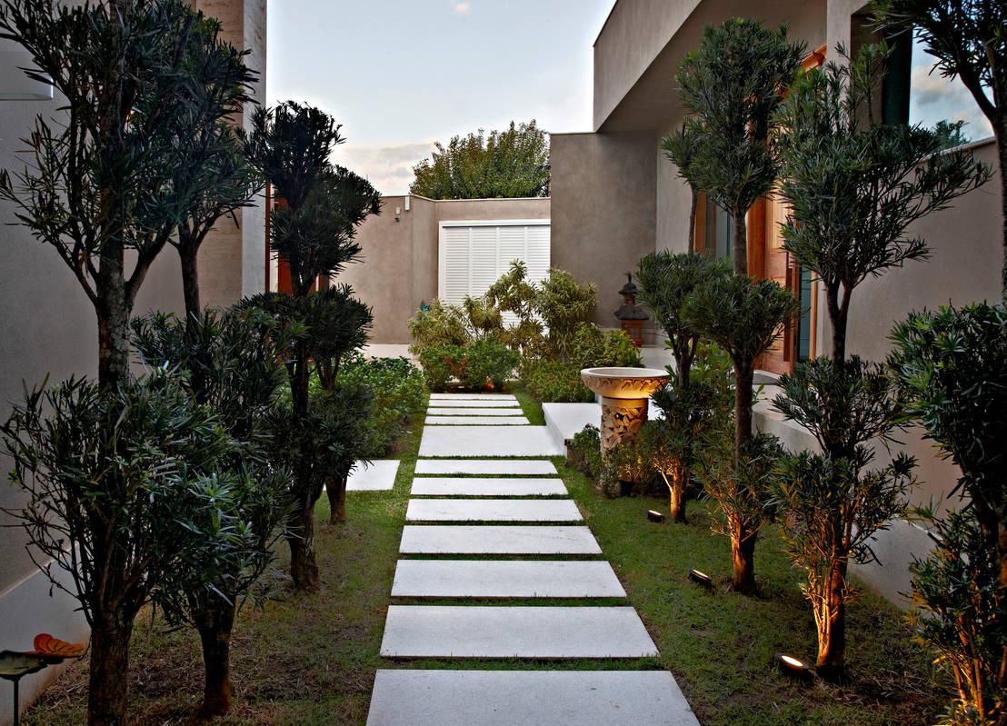 Ideias para criar um jardim na frente de sua casa