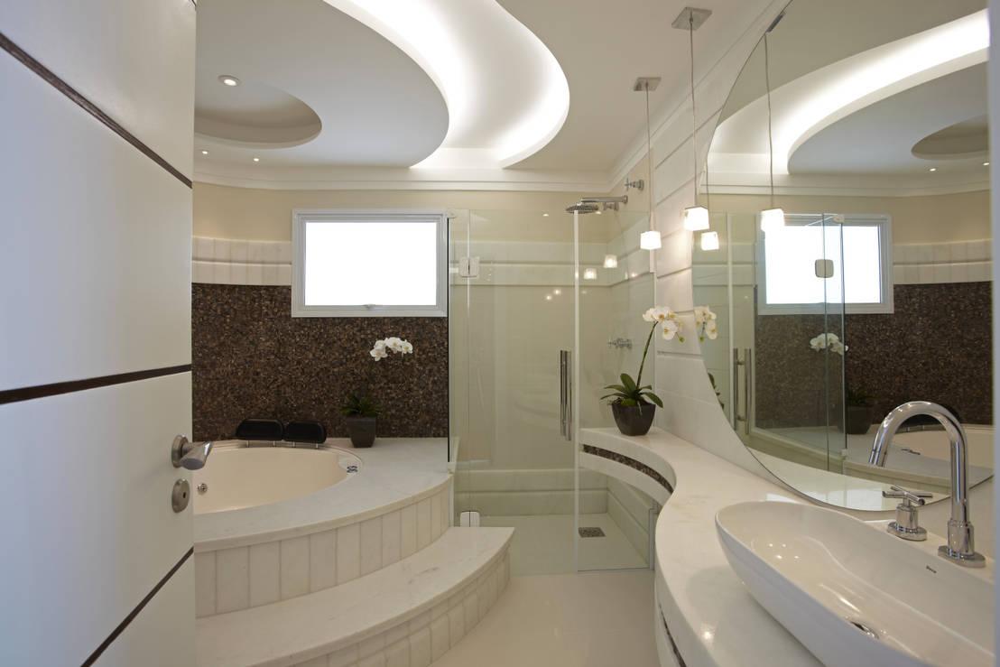 6 chuveiros modernos para o seu banheiro # Decoração Banheiro Pequeno Com Banheira