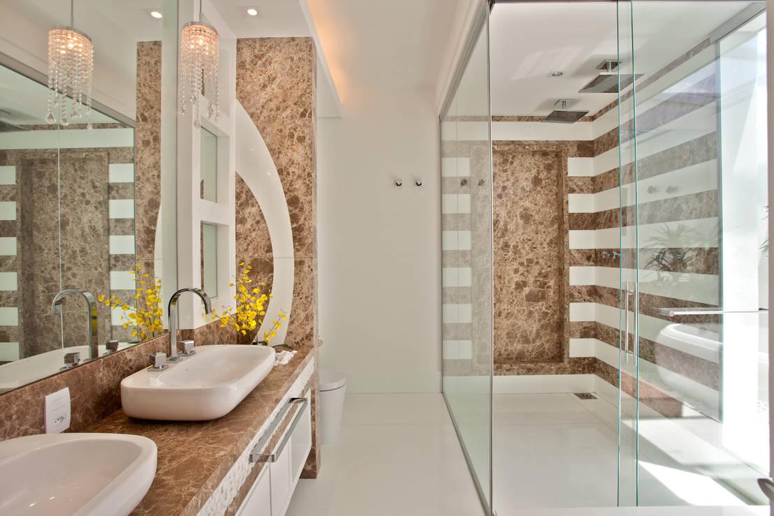 8 cubas de pias de banheiro charmosas for Bagni designer