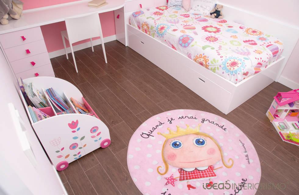 Alfombras infantiles suavidad en la habitaci n de los peques - Alfombra habitacion nina ...
