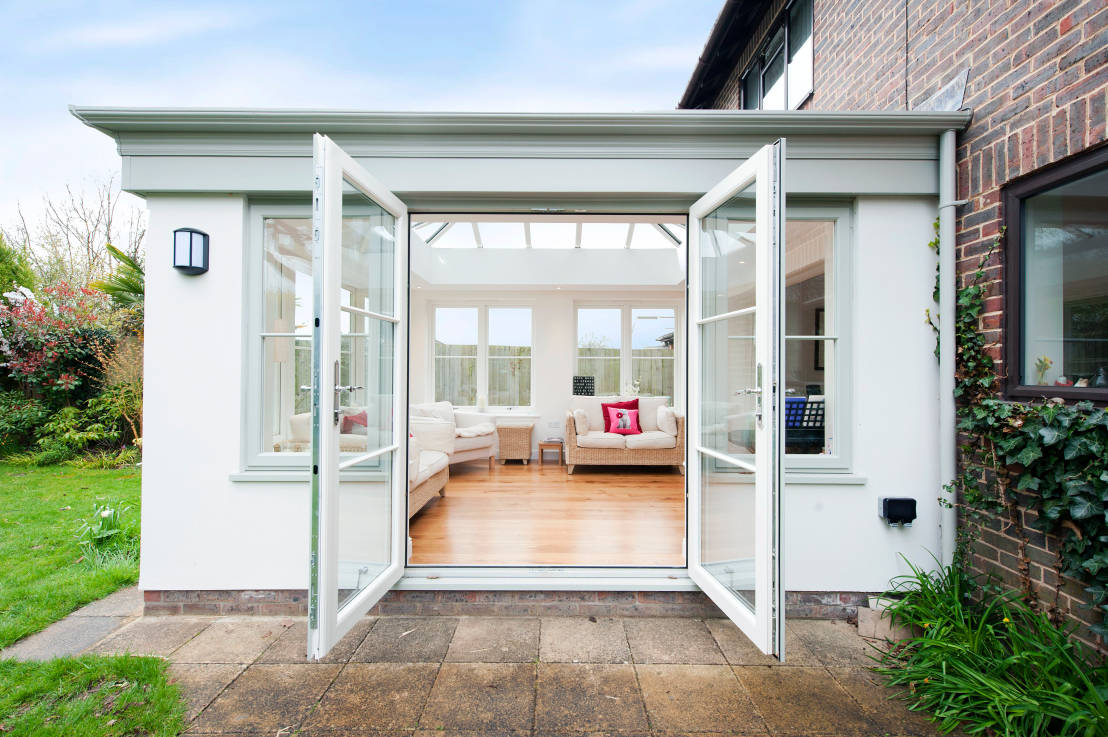 25 modest extensions perfect for british summers for Homify case