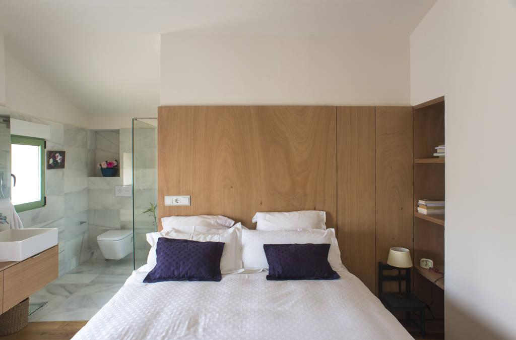 6 diseños originales para incluir el baño en el dormitorio