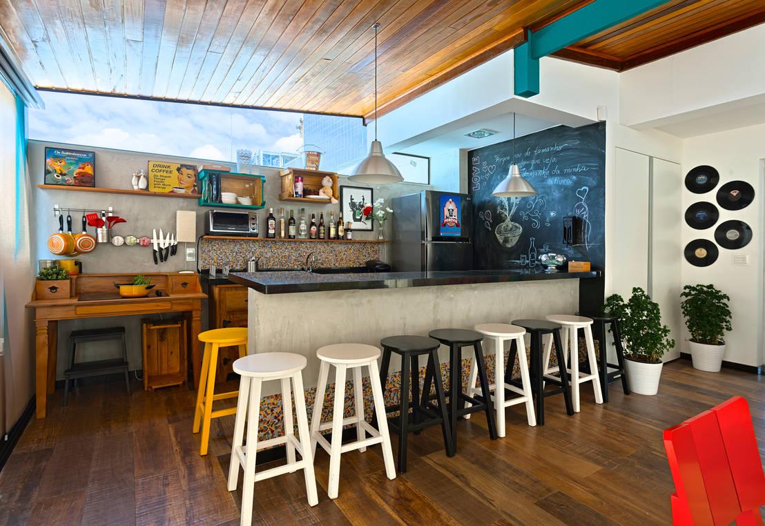 15 ideias lindas para ter um bar em casa Bares pequenos para casas