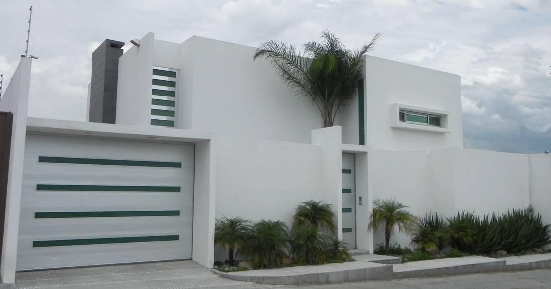 12 fachadas desenhadas para resguardar a privacidade for Ver fachadas de casas minimalistas