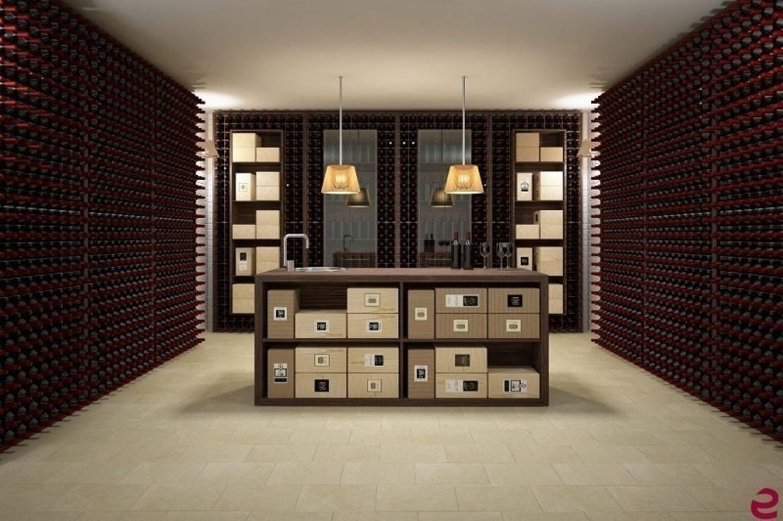 arredamento esigo per cantina by esigo srl homify box version modern wine cellar furniture