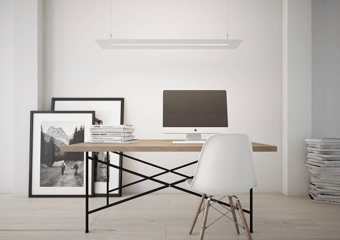 Seis dicas para ter um escrit rio moderno em casa - Come arredare lo studio di casa ...