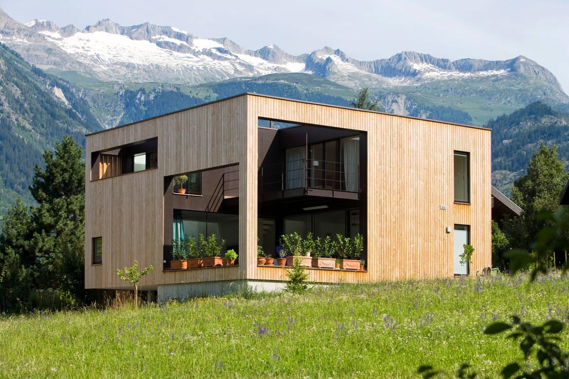 Haus der tausend einblicke - Architektur kubus ...