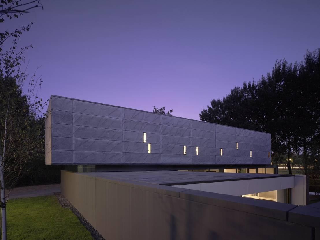 Project x psyche en de fantasie bijzondere architectuur in almere - Foto gevel moderne villa ...