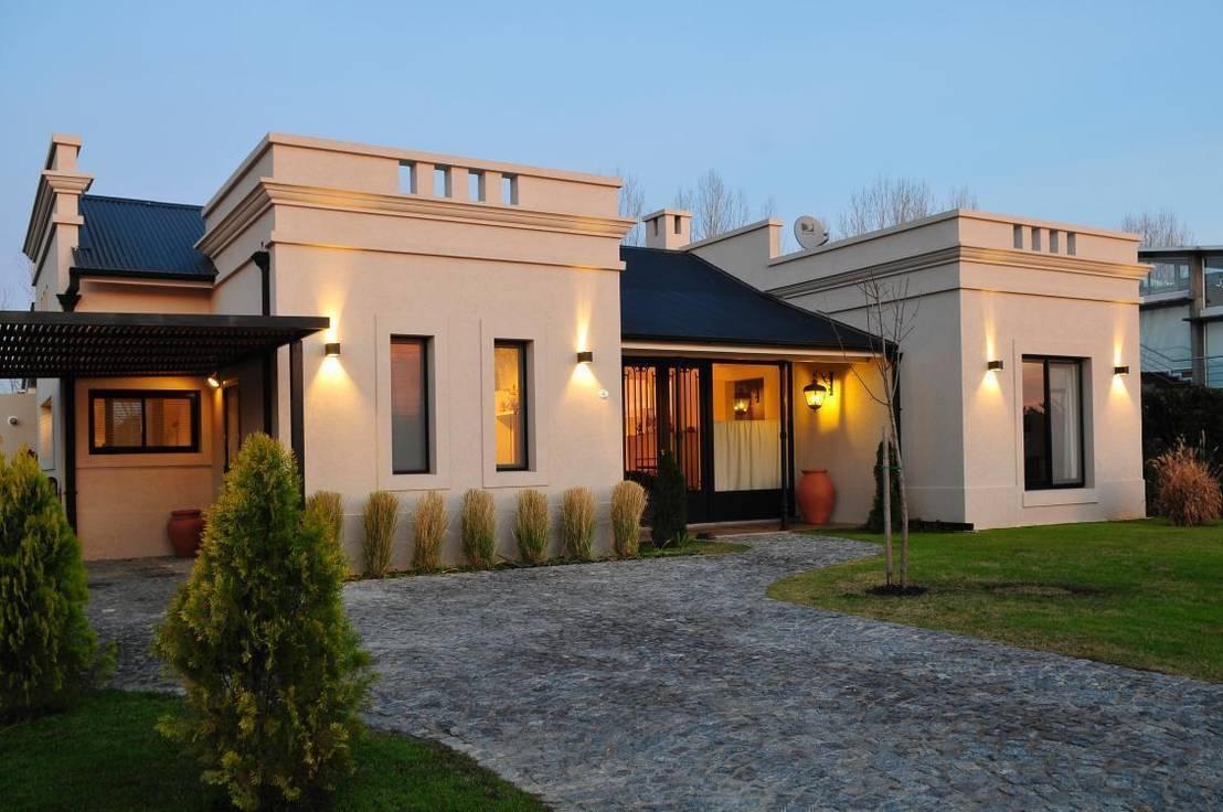 Casa de campo en pilar de parrado arquitectura homify for Homify casas de campo