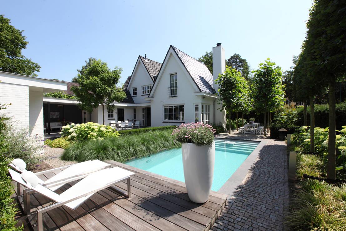 Het brabantse buitenleven door stoop tuinen homify - Moderne tuinfoto ...