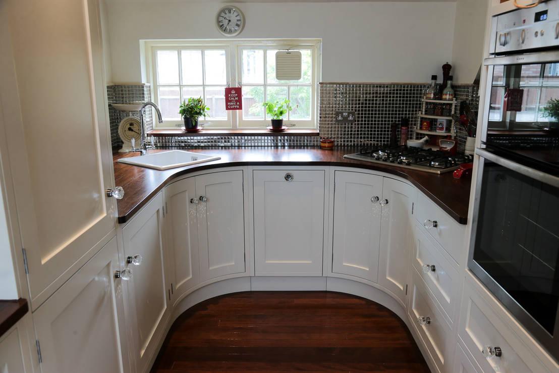 10 ideas para cocinas peque as llenas de encanto for Sample small kitchen designs