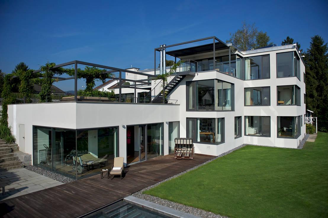 Villa in thalwil von dr schmitz riol planungsgesellschaft for Photo villa moderne