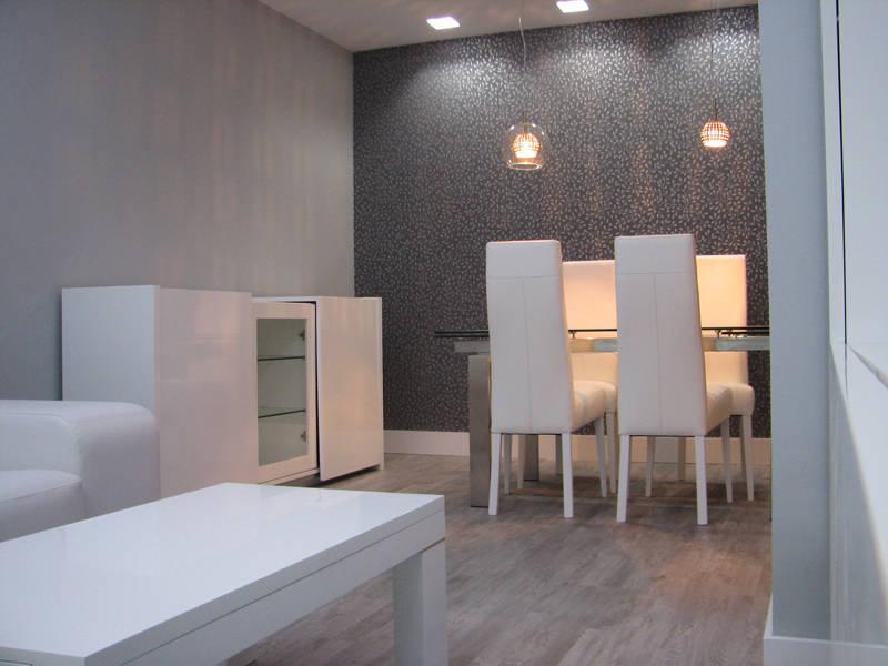 Salones modernos de diseno dise os arquitect nicos for Papel pintado para salones modernos