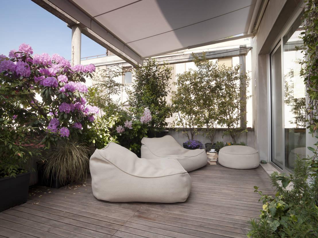 9 idee sensazionali per arredare il balcone la terrazza o for Terrazza design