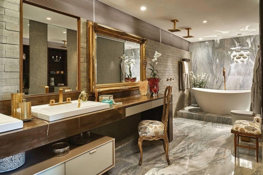 10 bancadas de banheiro maravilhosas for Casa classica moderna