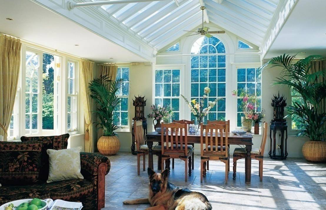 10 conservatory lighting ideas for Garden room extension interior