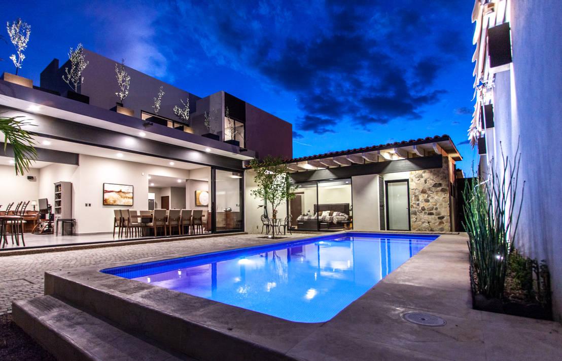 7 casas modernas de arquitectos mexicanos - Casas modernas con piscina ...