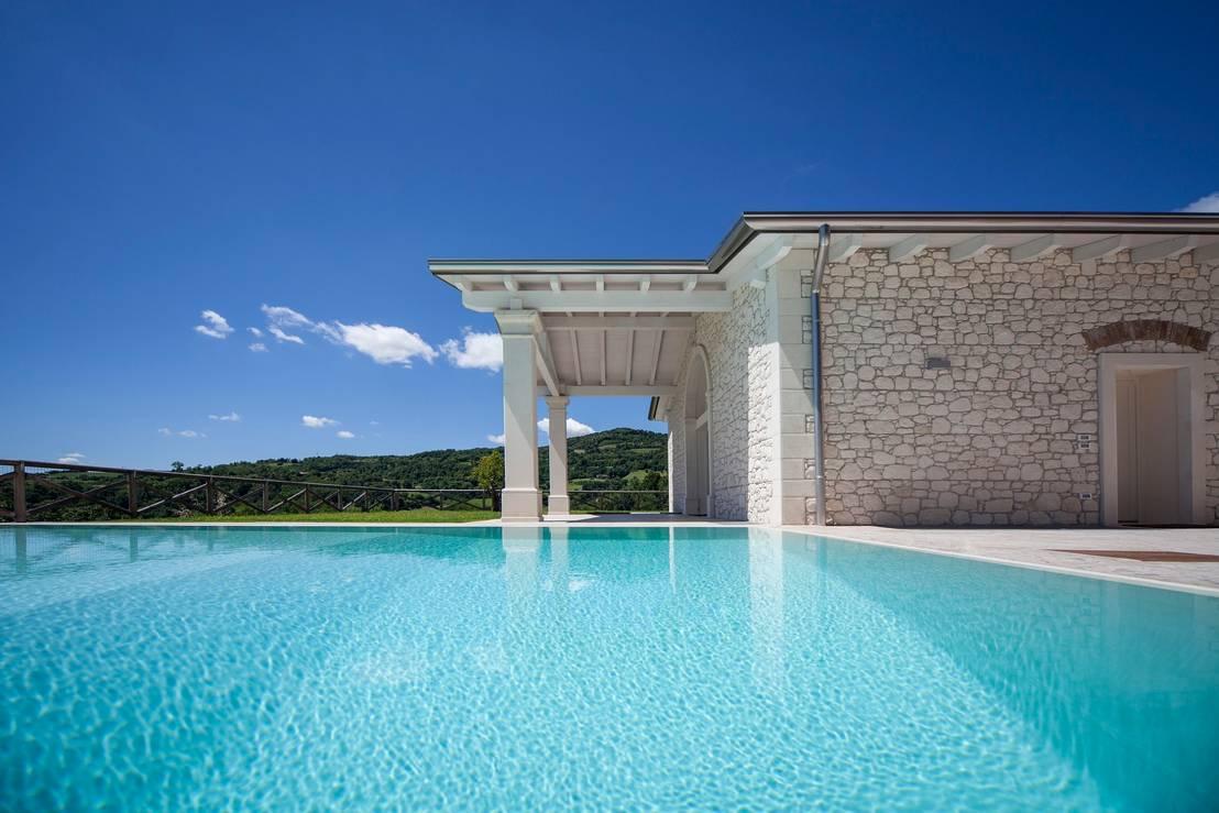 Ville di lusso per chi ama sognare in grande for Grandi planimetrie per le case